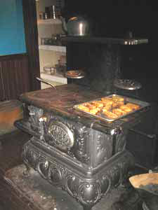 Cook Stoves - wood, coal, gas